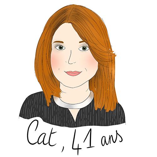 Cat, 41 ans : Body positive (et positive tout court !)